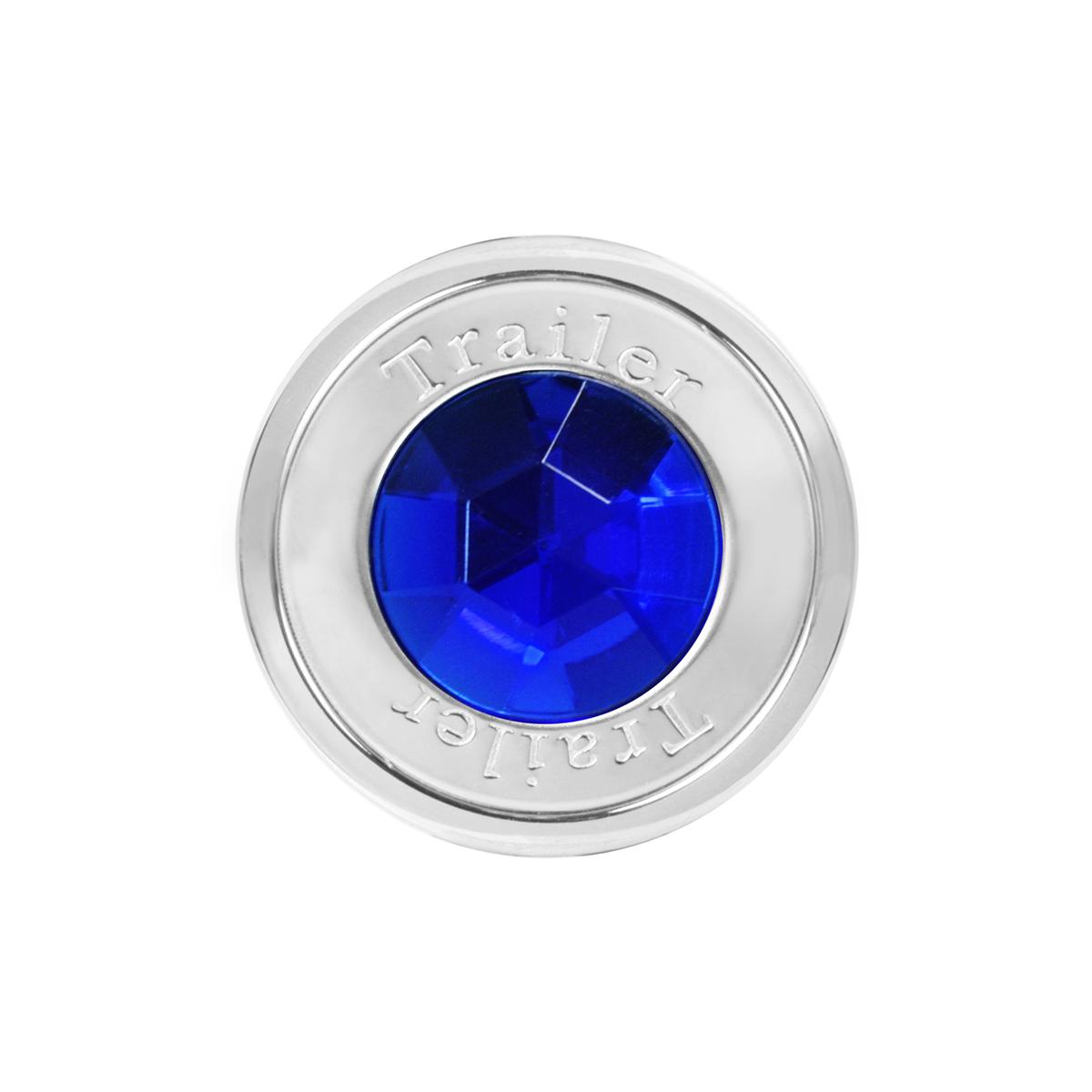 95821 Trailer Air Control Knob w/ Blue Crystal