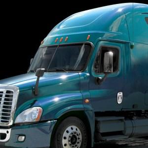 67807 Chrome Plastic Exterior Door Handle Cover (Driver Side) for FL Cascadia/Business Class M2