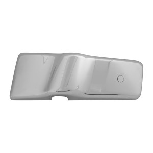 67812 Chrome Plastic Exterior Door Mirror Bracket Cover (Driver Side) for FL Century/Columbia/Coronado