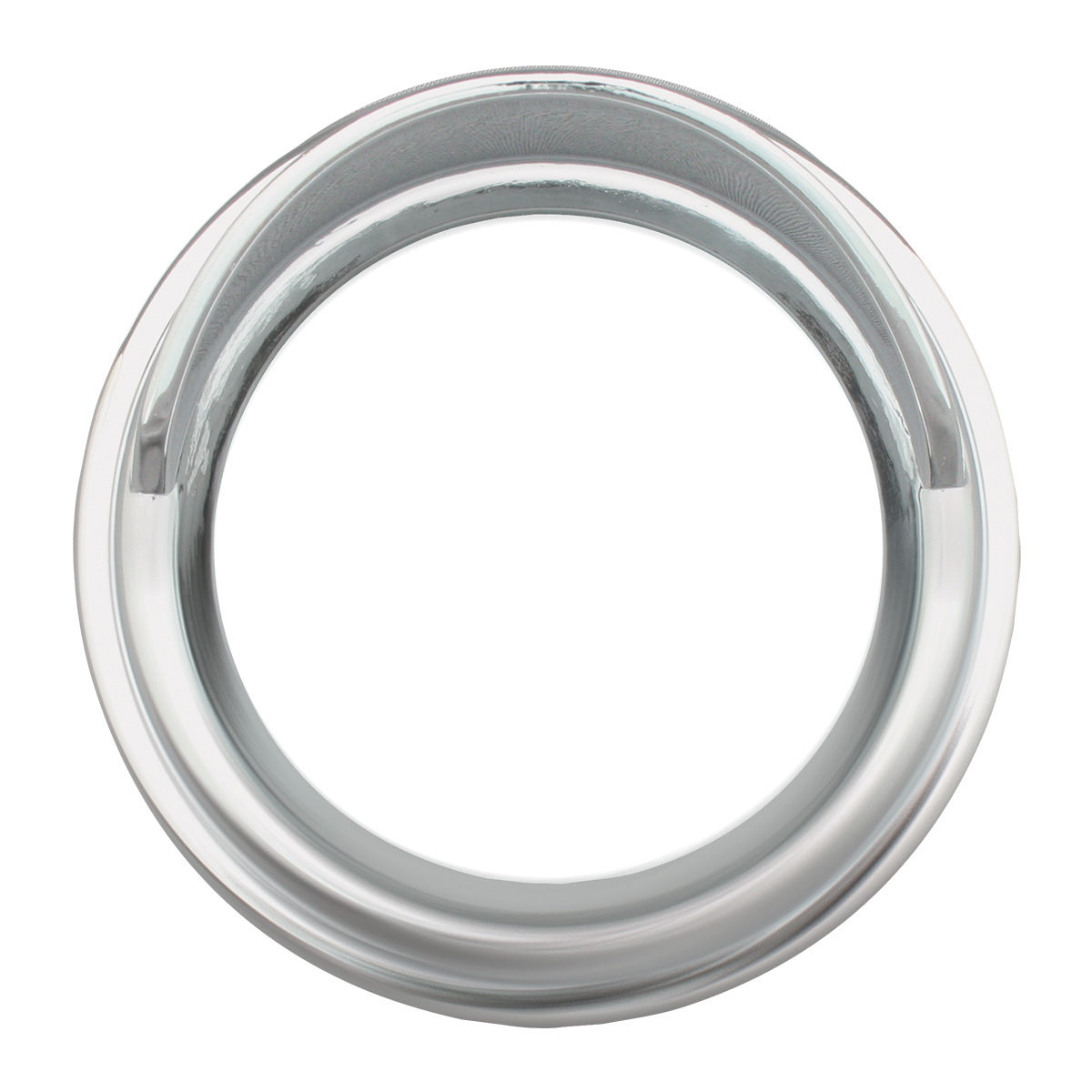 Chrome Plastic Gauge Cover w/ Visor for FL & Pete