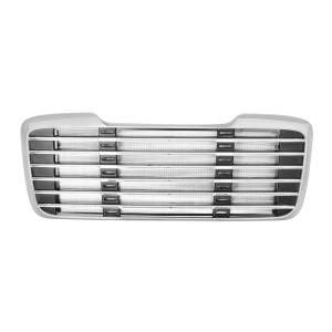Chrome Plastic Grille with Bug Screen for Freightliner