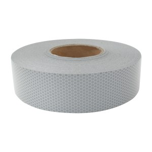 """#92292 White DOT-C2 Conspicuity Tape - 18"""" Strips, Set of 4"""