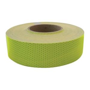 "#92299 Flourescent Green DOT-C2 Conspicuity Tape - 2"" x 150'"