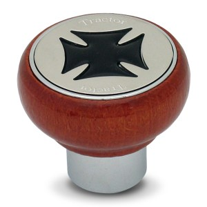 Wood Screw-In Air Valve Control Knobs with Iron Cross