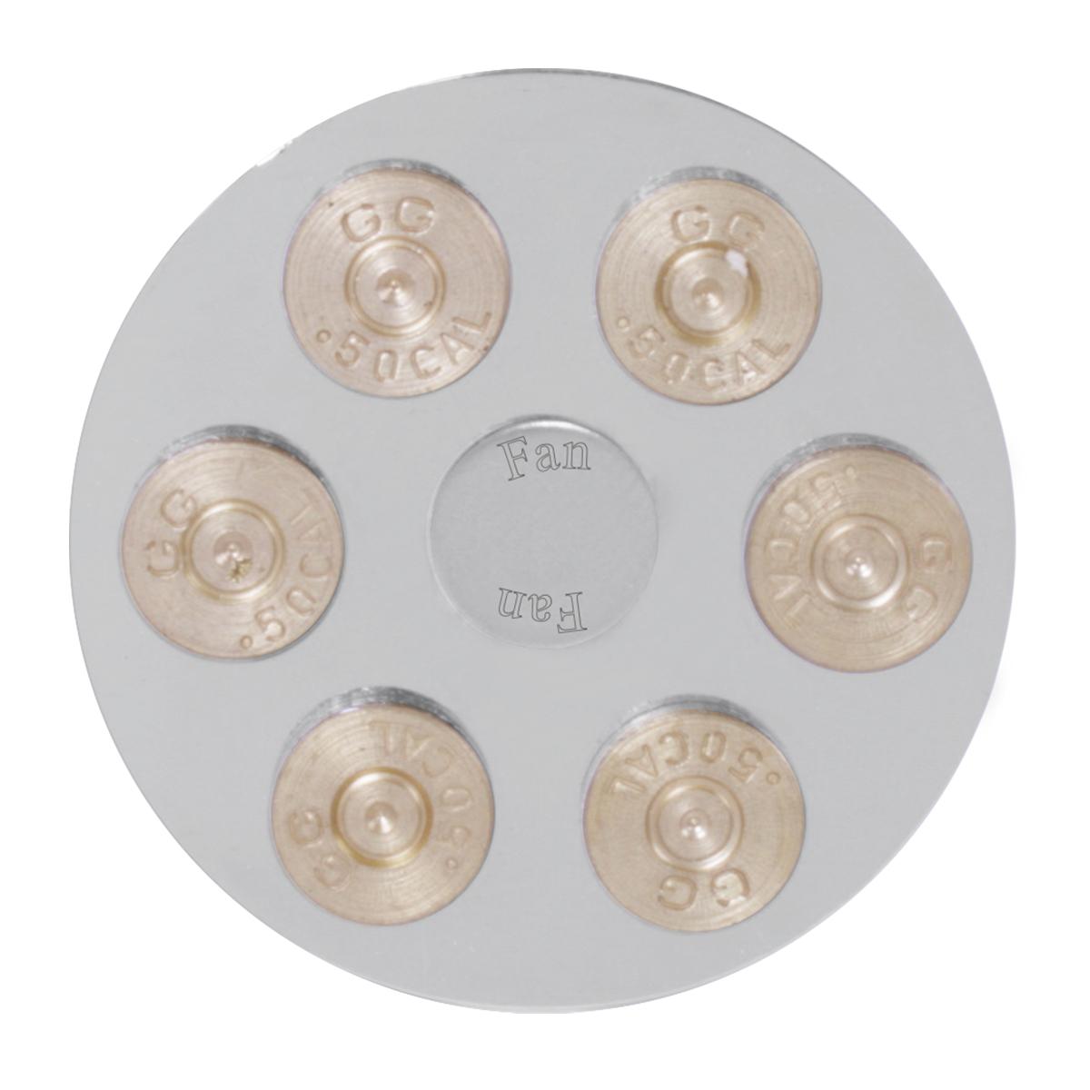 95611 Gun Cylinder Dashboard Control Knob w/ Fan Script
