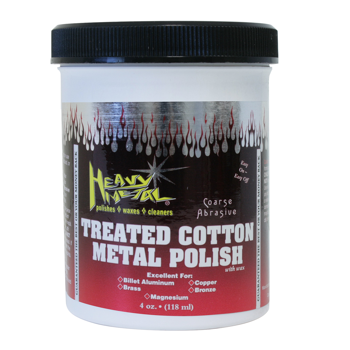 98268 Red Cotton Heavy Metal Polish
