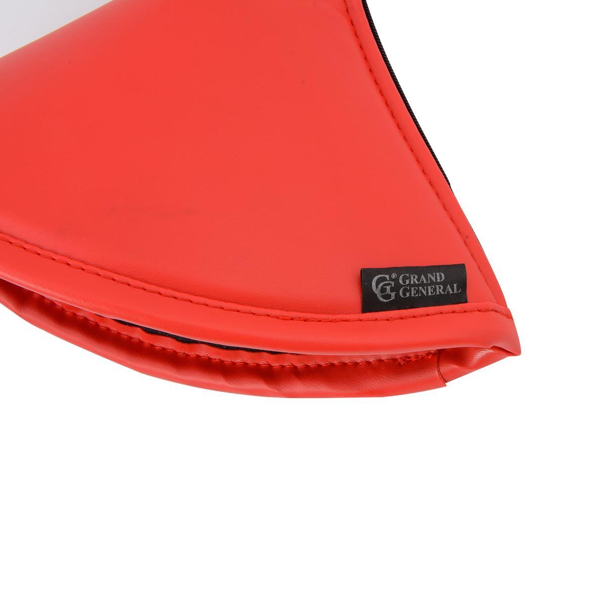 GG Grand General 99869 Matte Black Carbon Fiber Gear Shift Knob Cover w//Red Stitching