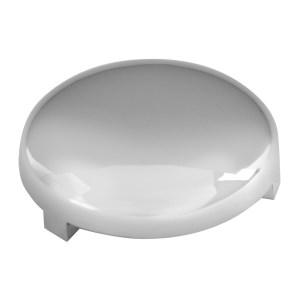 51991 Chrome Plastic Interior Vinyl Button Cover for FL, Set of 10