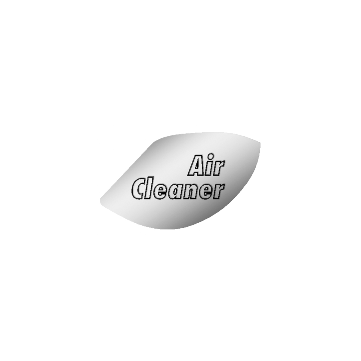 GG Grand General 68441 Stainless Steel Engine Start Emblem for Peterbilt 370S /& 359
