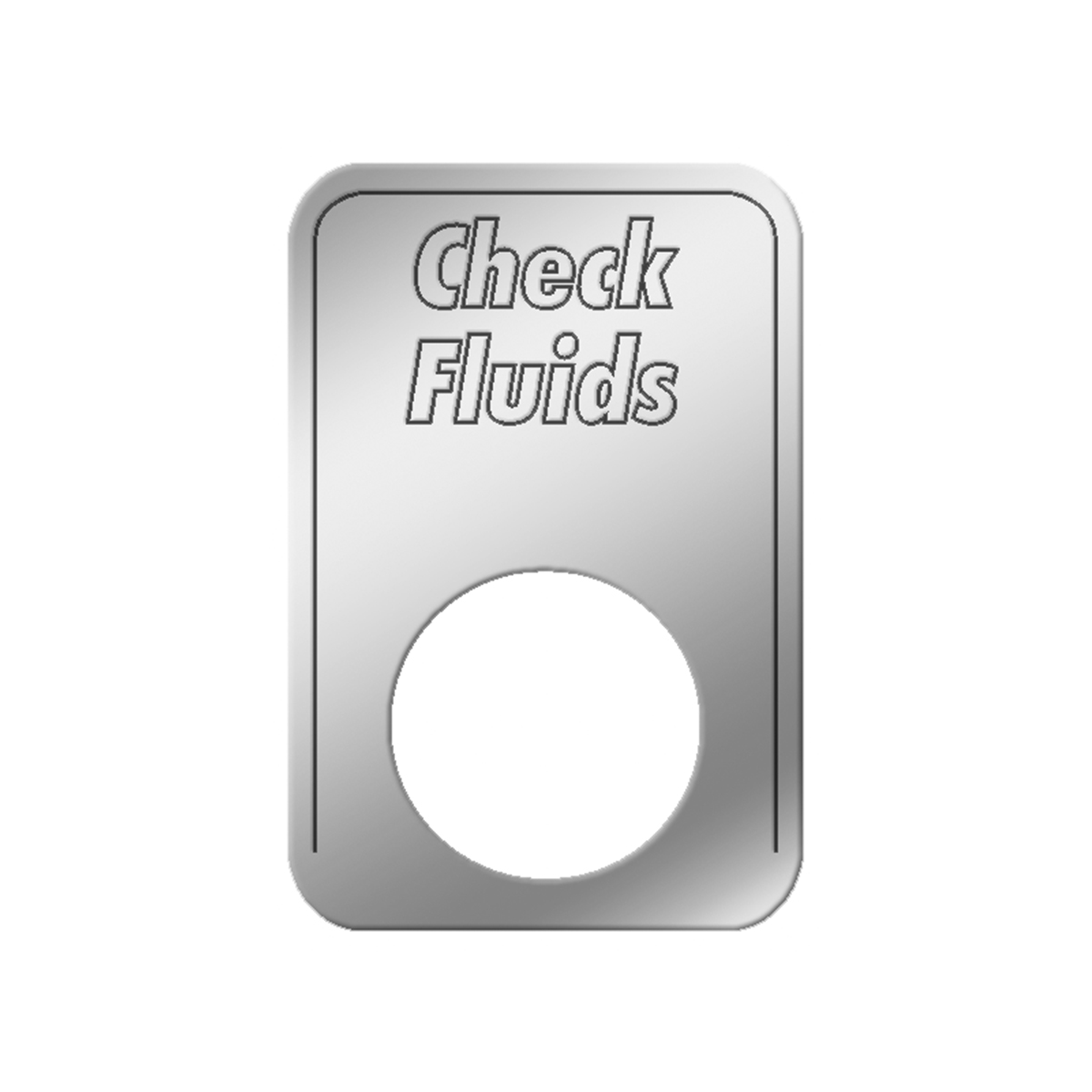 #68561 Check Fluids Indicator Light