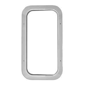 97578 Chrome Plastic Interior View Window Trim for Pete