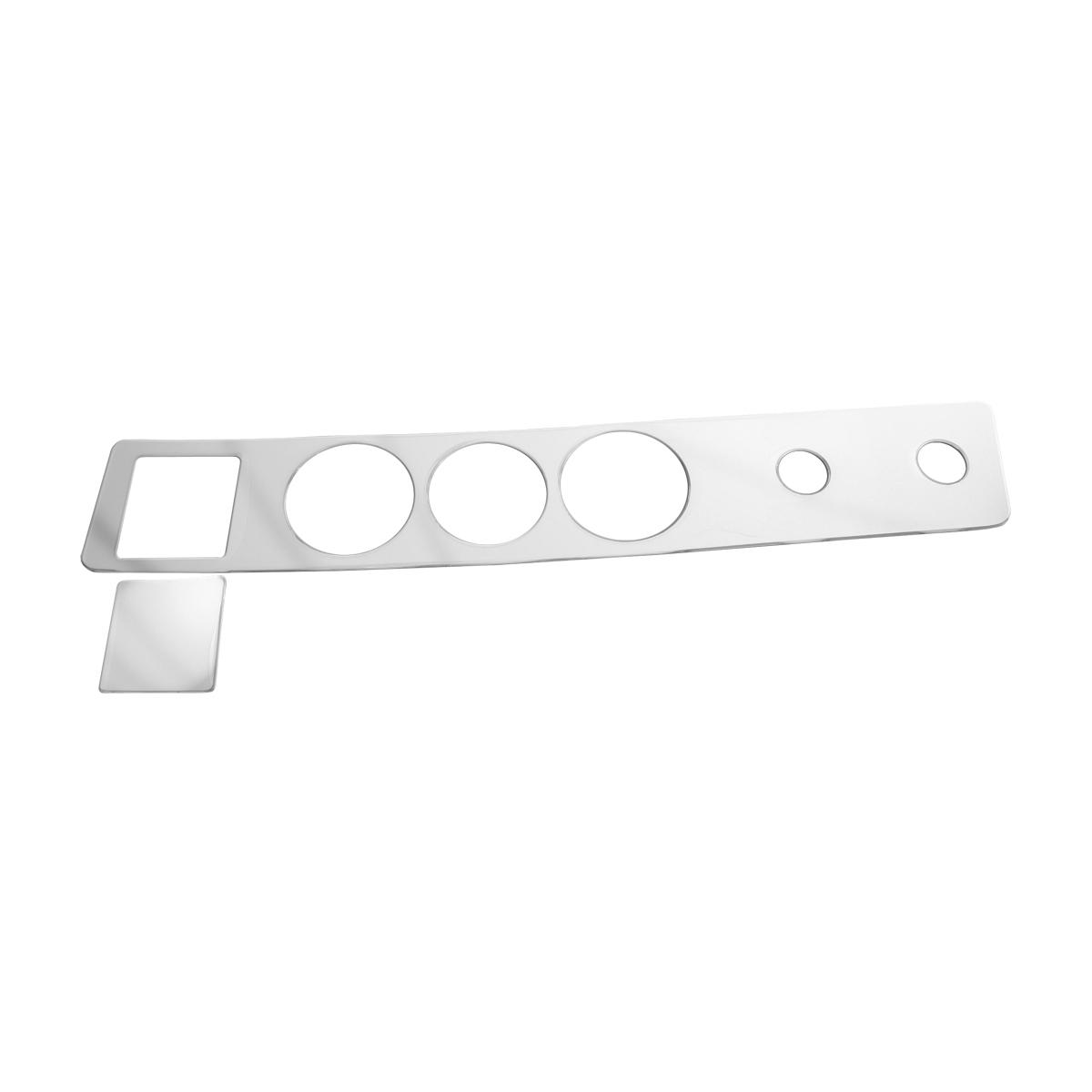 68913 KW Chrome Soft Plastic Control Trim