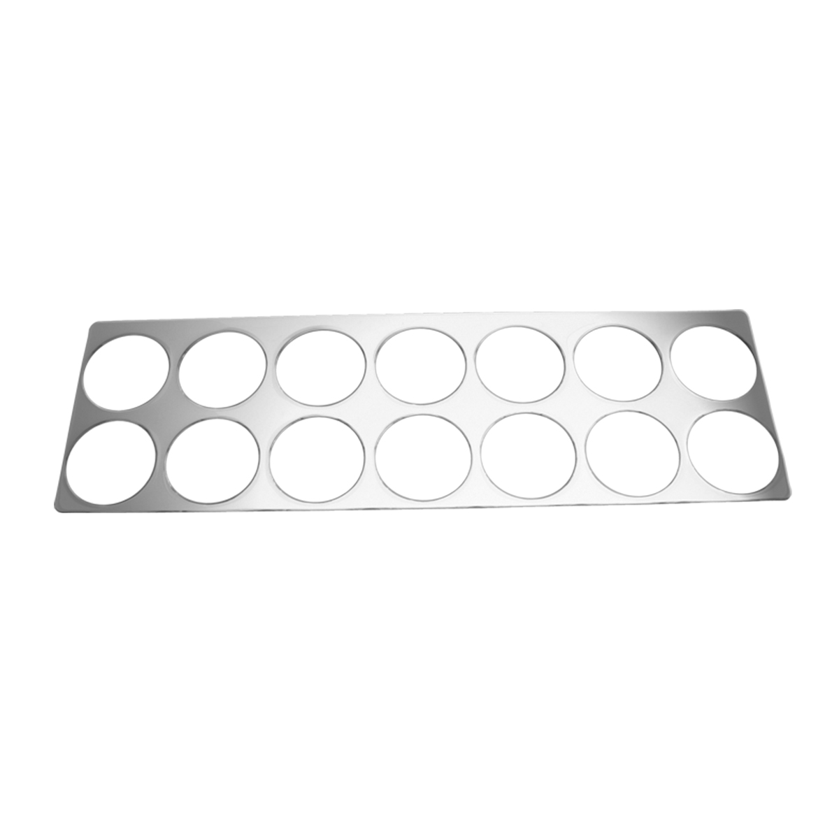 68925 KW Chrome Soft Plastic Right Gauge Trim
