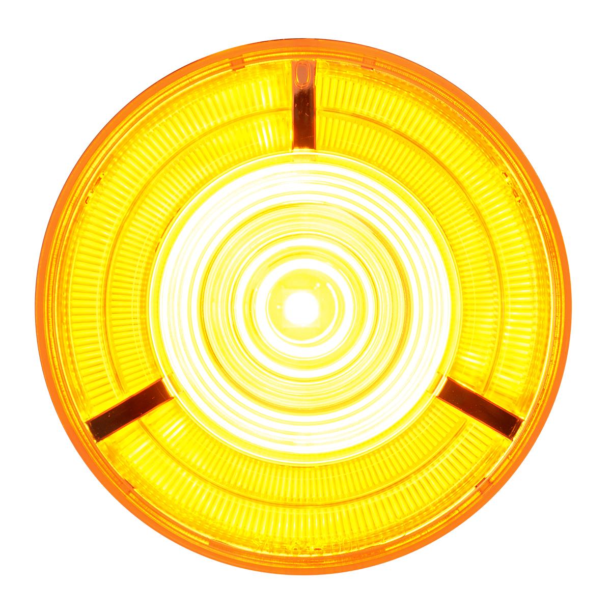 """74882 4"""" Prime LED Light in Amber/Amber"""