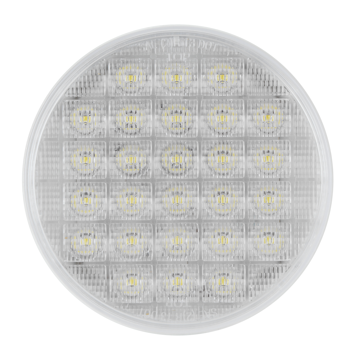 """74894 Sequential 4"""" Smart Dynamic LED Light in White/Clear"""