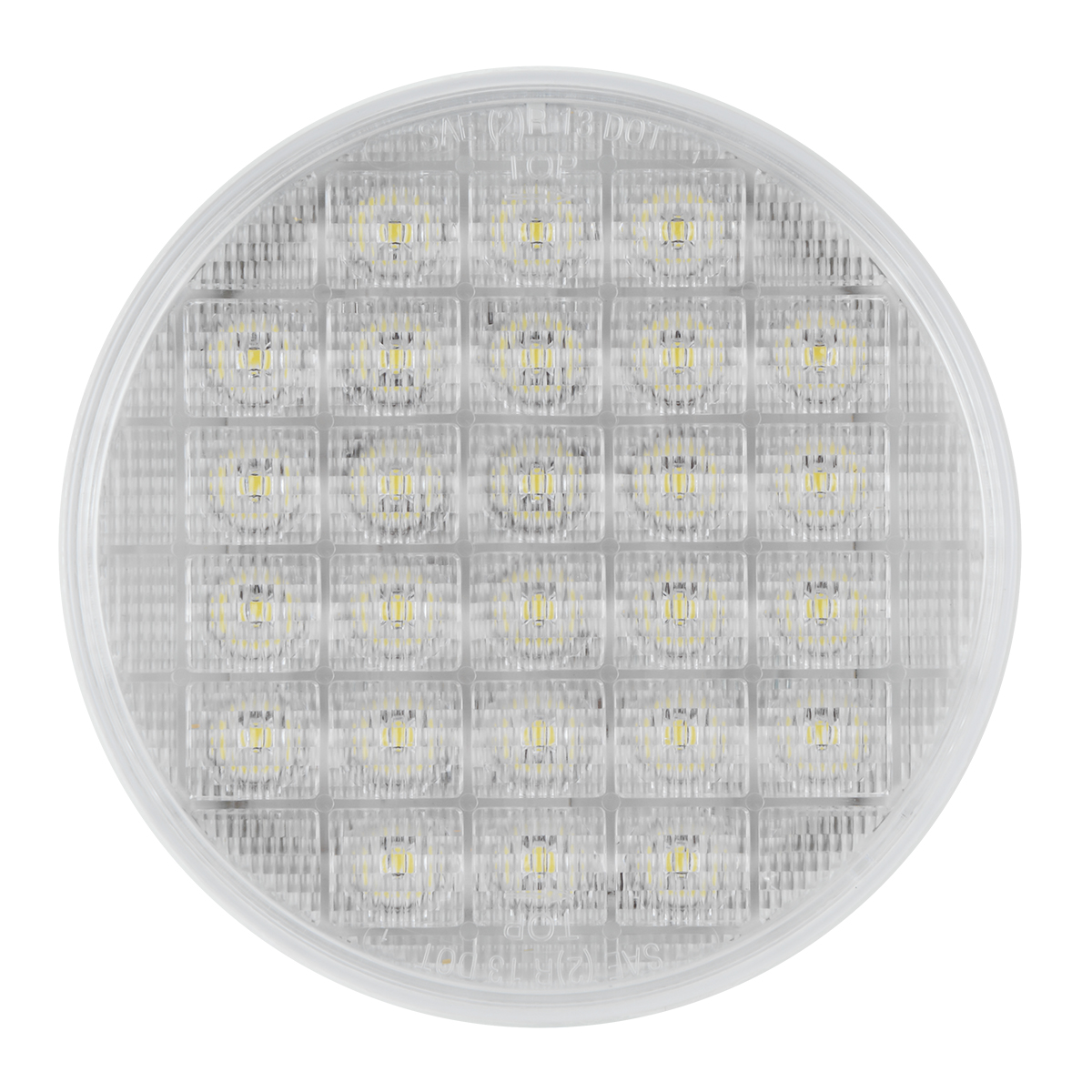 "74895 Non-Sequential 4"" Smart Dynamic LED Light in White/Clear"