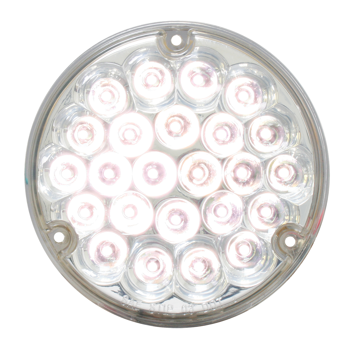 "76154 4"" Pearl LED Load Light in White/Clear"