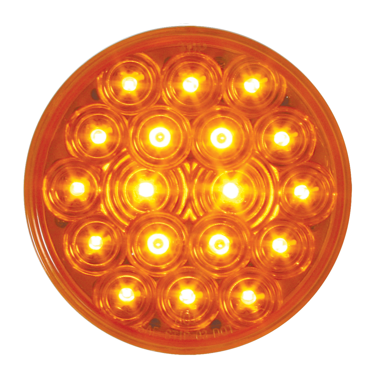 "76450 4"" Fleet LED Light in Amber/Amber"