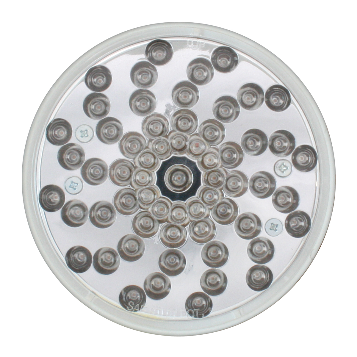"""4"""" Twister LED Light in Clear Lens"""