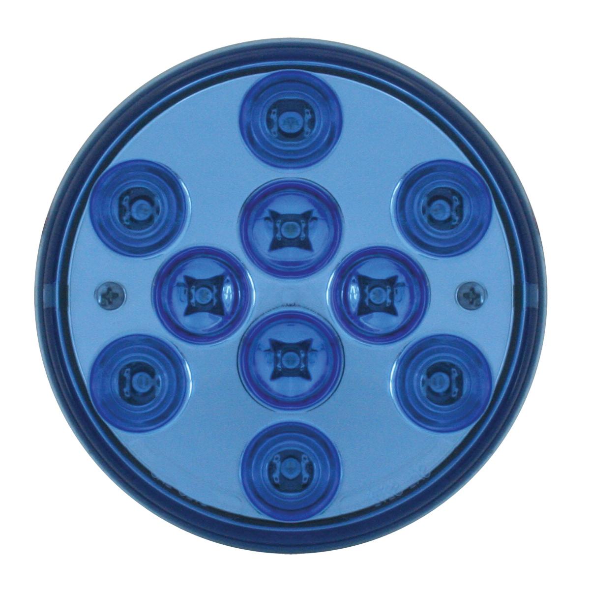GG Grand General 76855 4 Inch Mega Plus Blue//Clear 10 Led Sealed Light