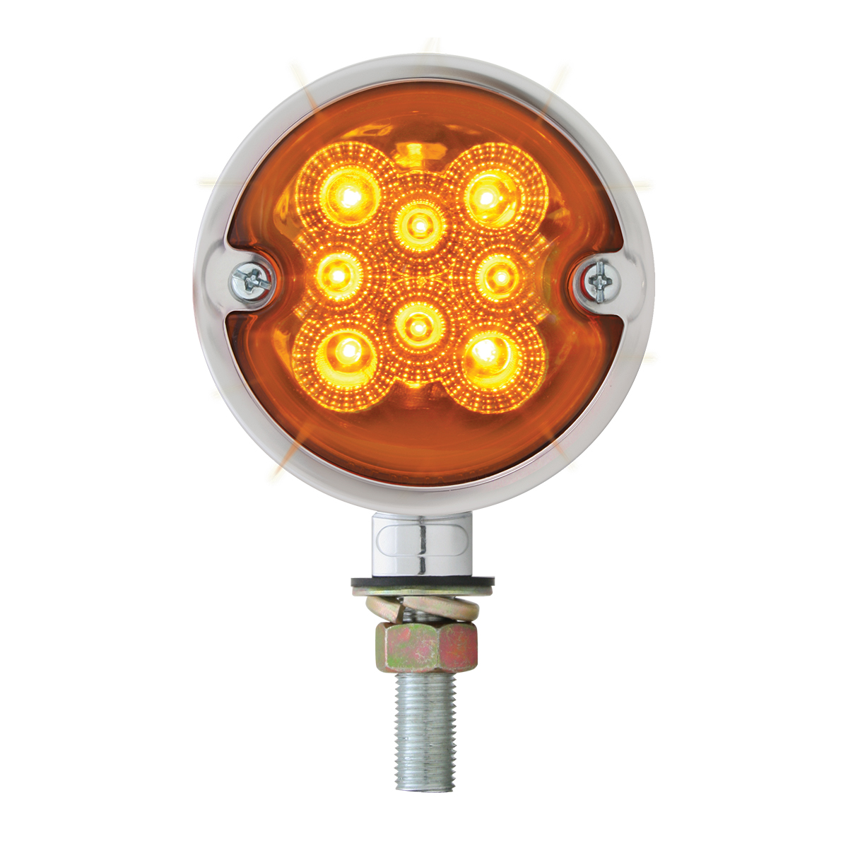 78550 Double Face Spyder LED Light in Amber/Amber