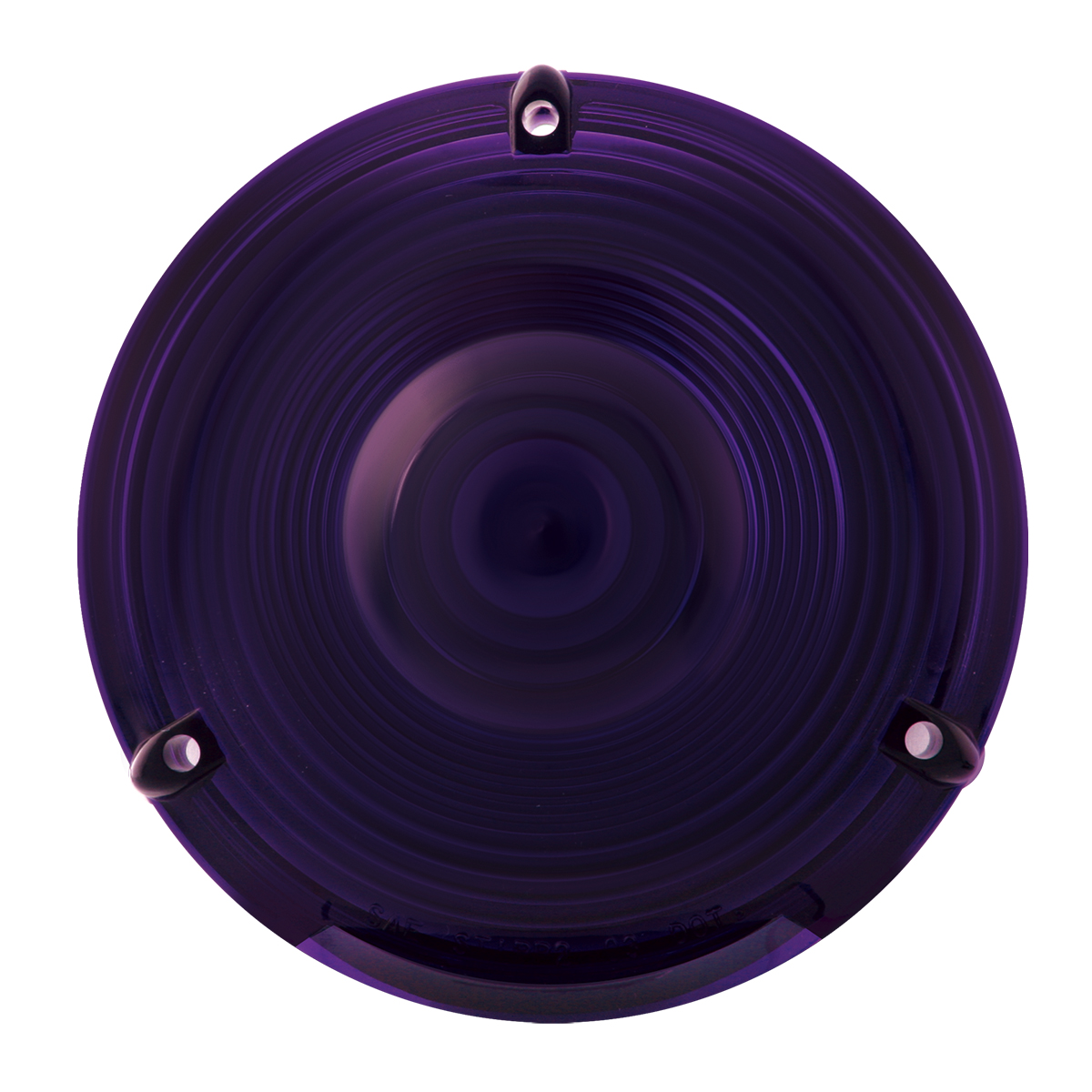 "#80308 4"" Flange Mount Light - Purple Lens Only"