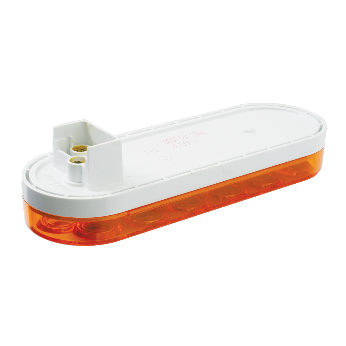 87720 Oval Fleet LED Light in Amber/Amber