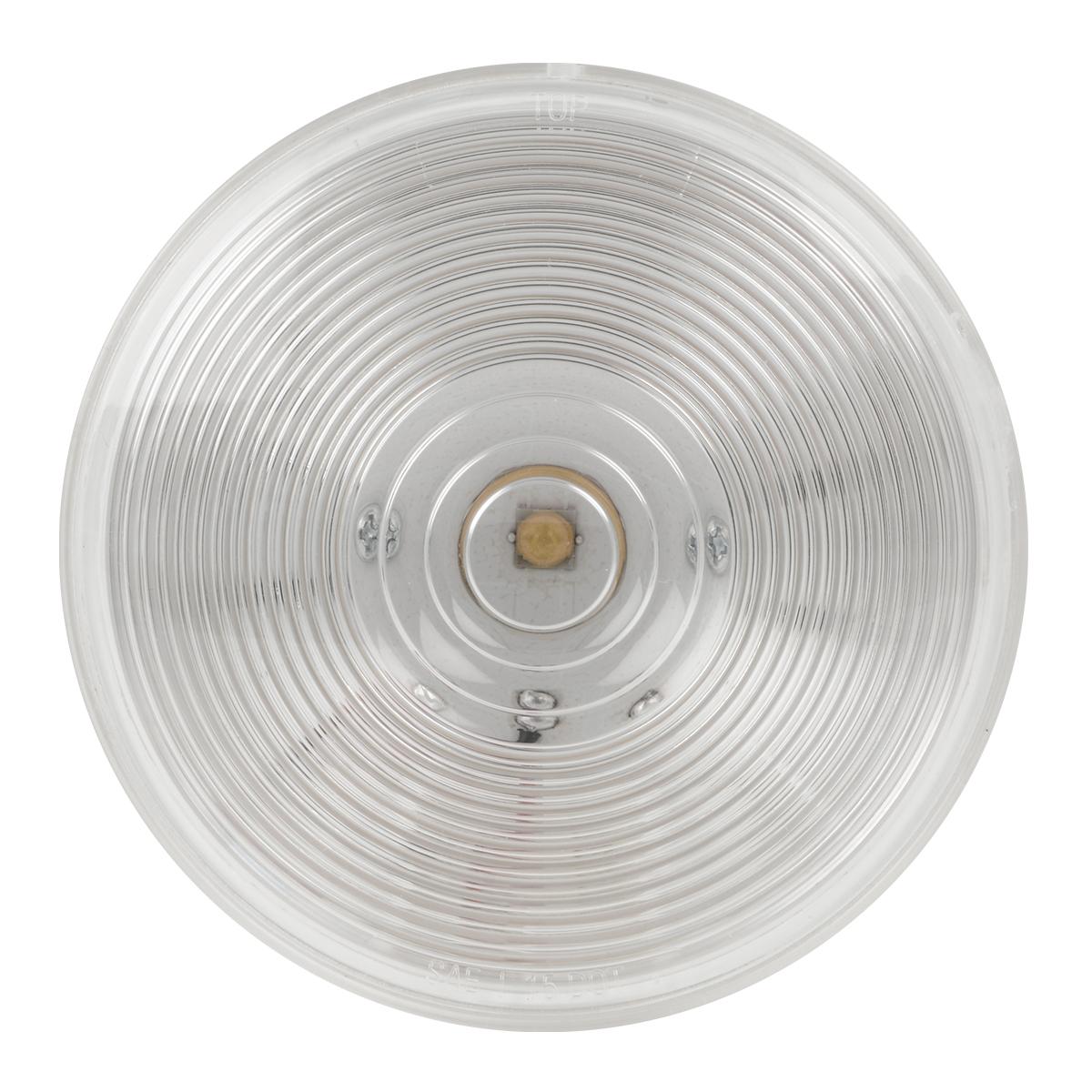 """4"""" Single LED Light in Clear Lens"""