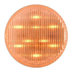 """75991 2.5"""" Dual Function LED Light in Amber/Clear"""