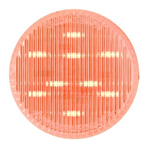 """75993 2.5"""" Dual Function LED Light in Red/Clear"""