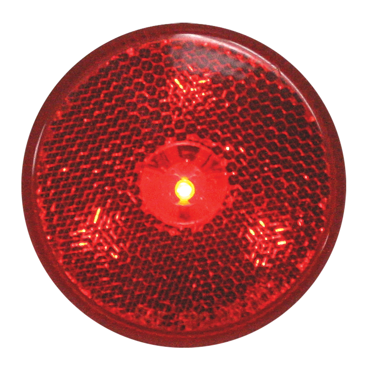"""76972 2.5"""" Reflector Style LED Maker Light in Red/Red"""