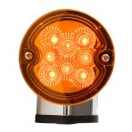 Single Face Projected Spyder LED Pedestal Light