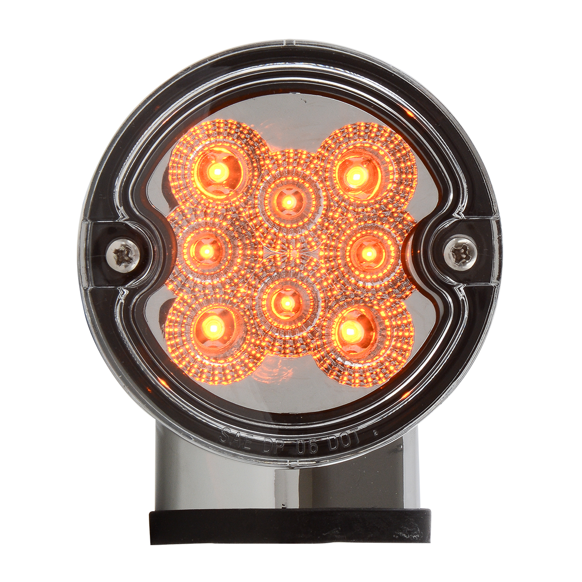77251 Single Face Projected Spyder LED Pedestal Light