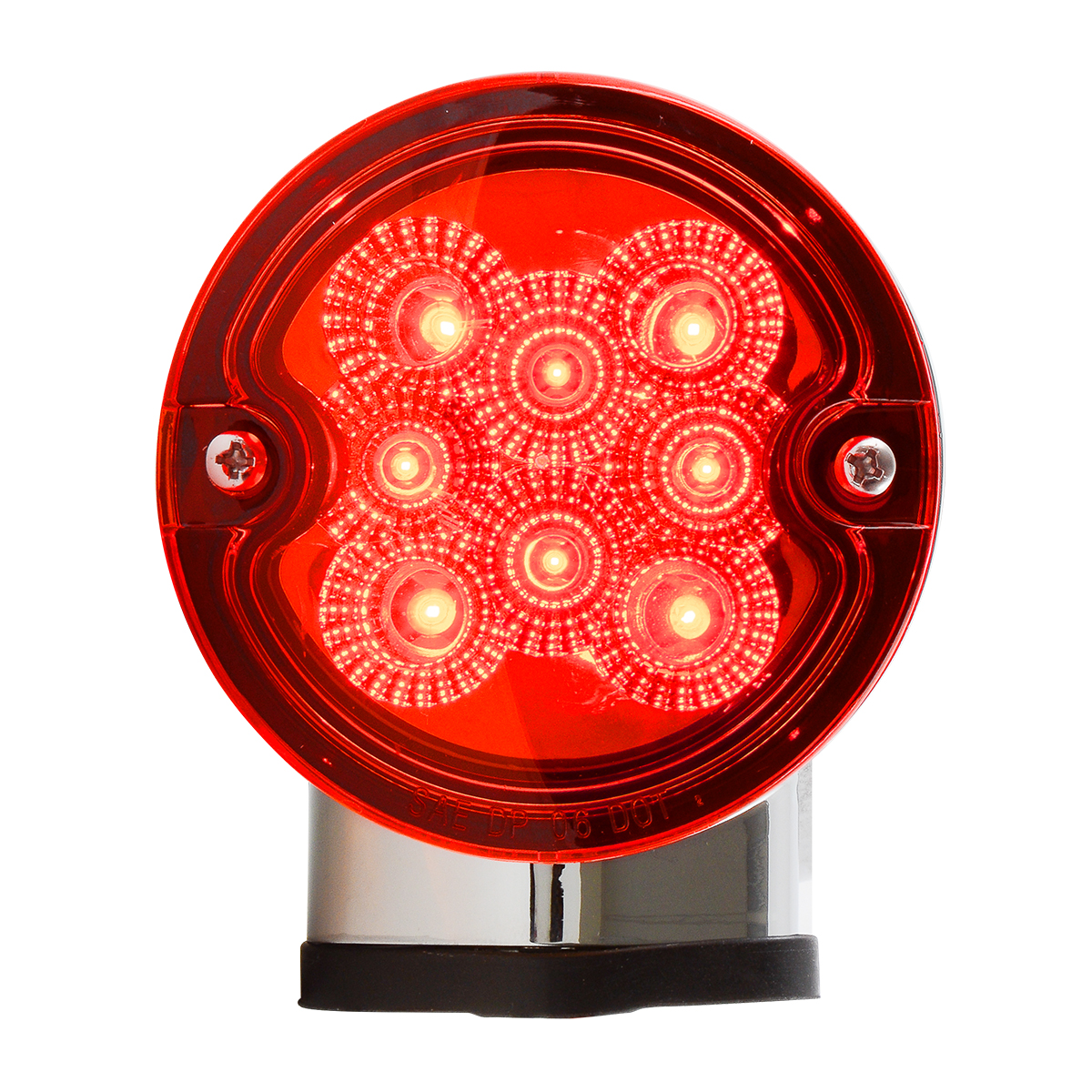 77252 Single Face Projected Spyder LED Pedestal Light