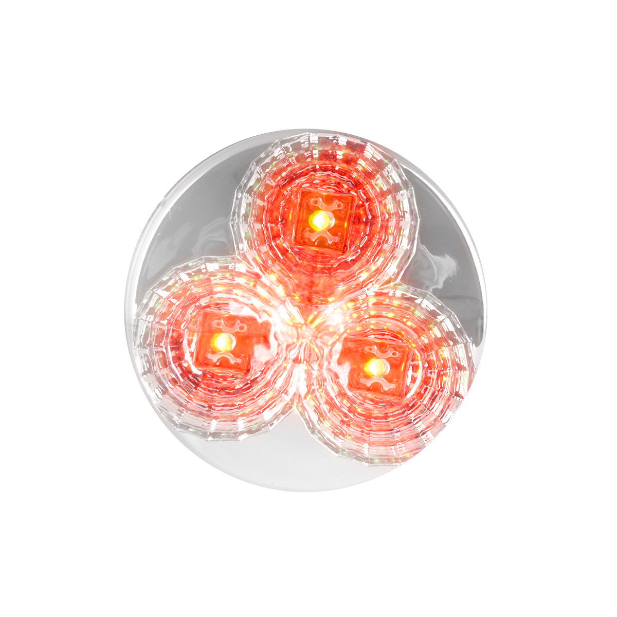 Projected Spyder LED Marker Light in Red/Clear