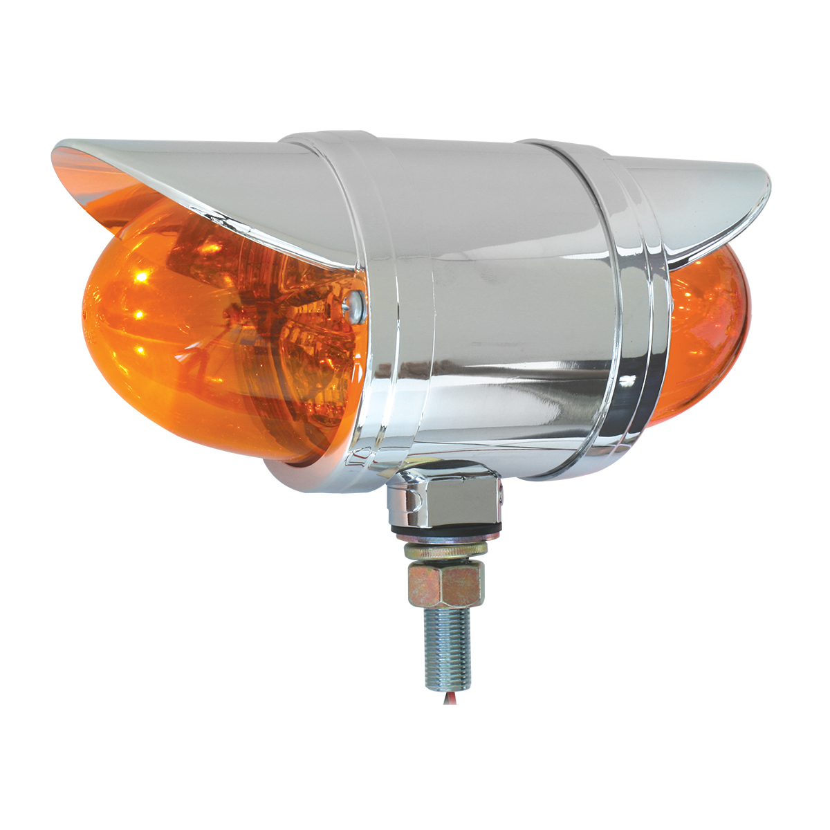 77932 Double Face Spyder LED Pedestal Light