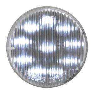 """79289 2"""" Fleet LED Marker Light in White/Clear"""