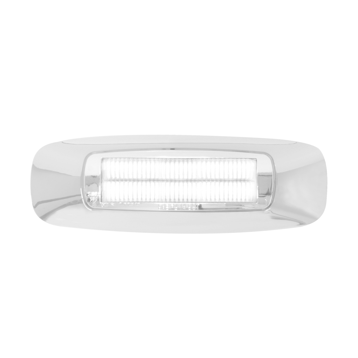 "74834 4-5/8"" Rectangular Prime LED Marker Light in White/Clear"