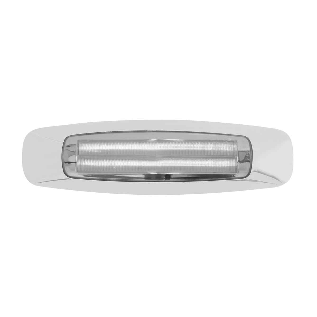 "5-3/4"" Rectangular Prime LED Marker Light in Clear Lens"