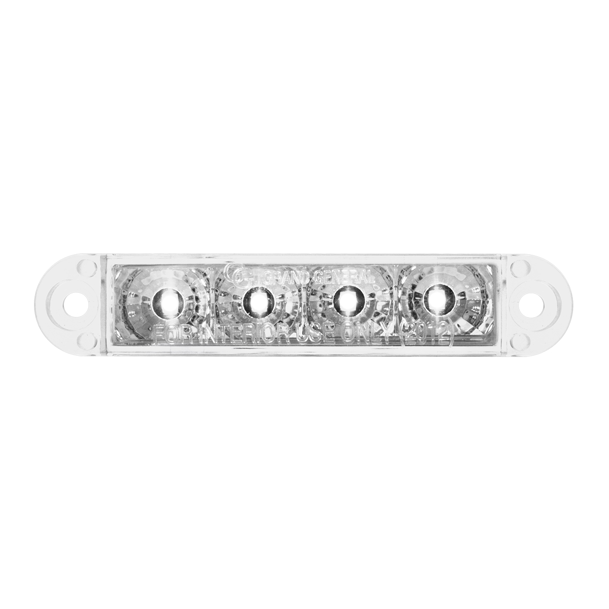 "76074 3.5"" Dual Function LED Light in White/Clear"