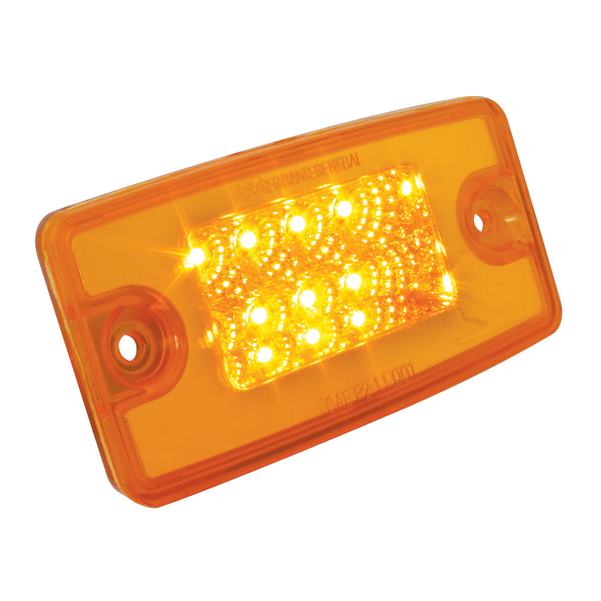 76320 Freightliner Rectangular Spyder LED Cab Marker Light