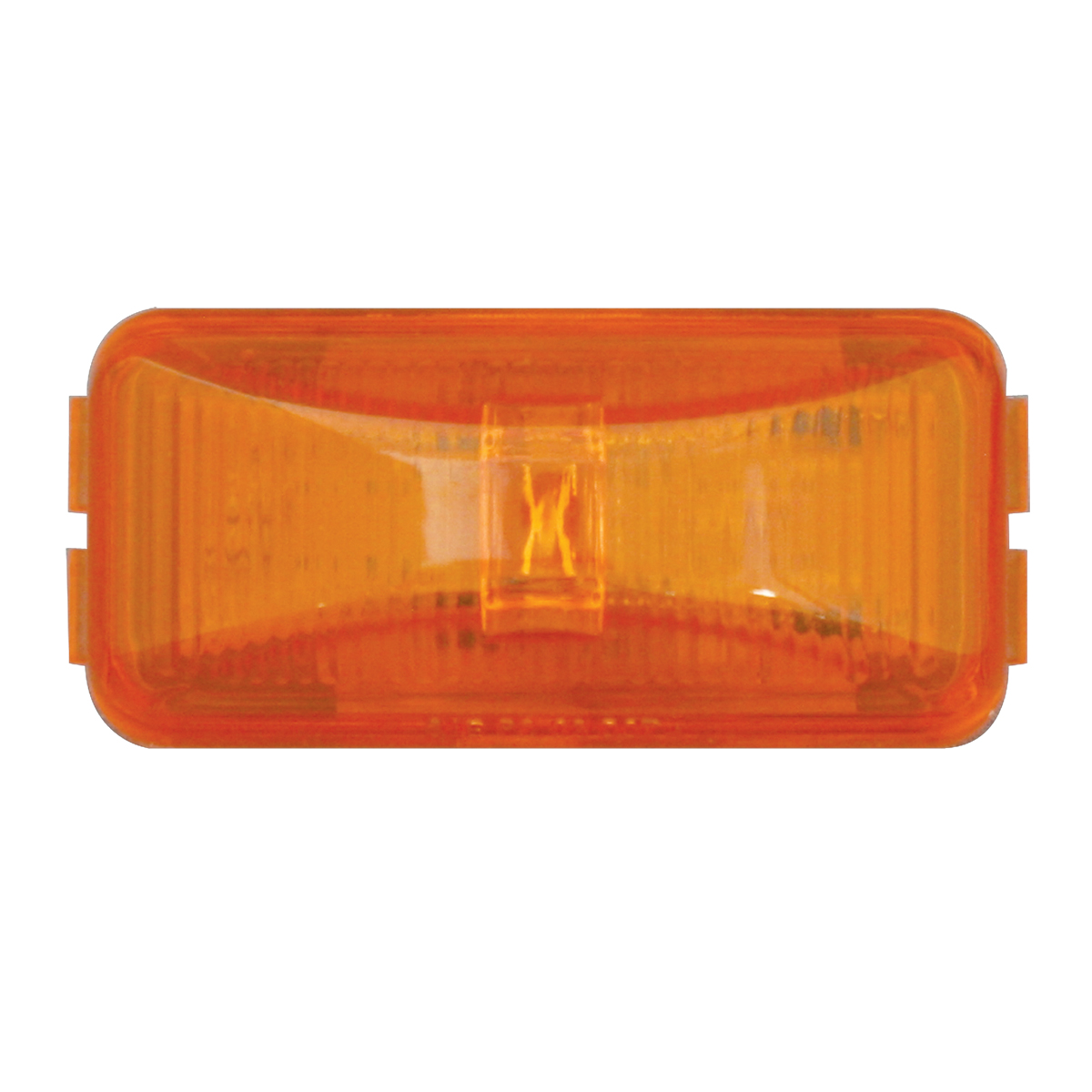 76410 Small Rect Fleet LED Light in Amber/Amber