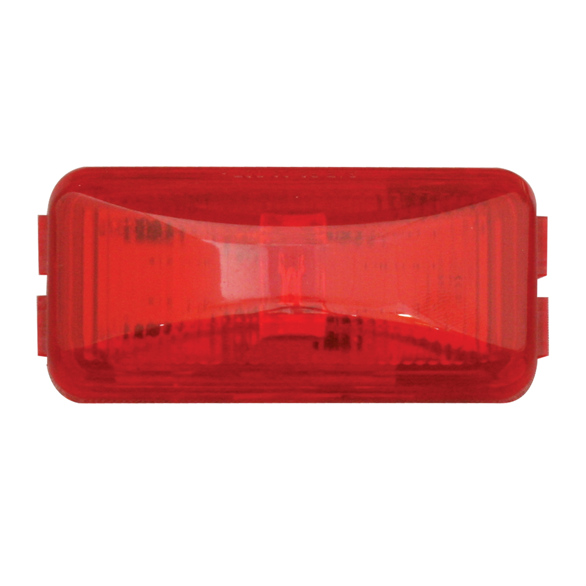 76412 Small Rect Fleet LED Light in Red/Red
