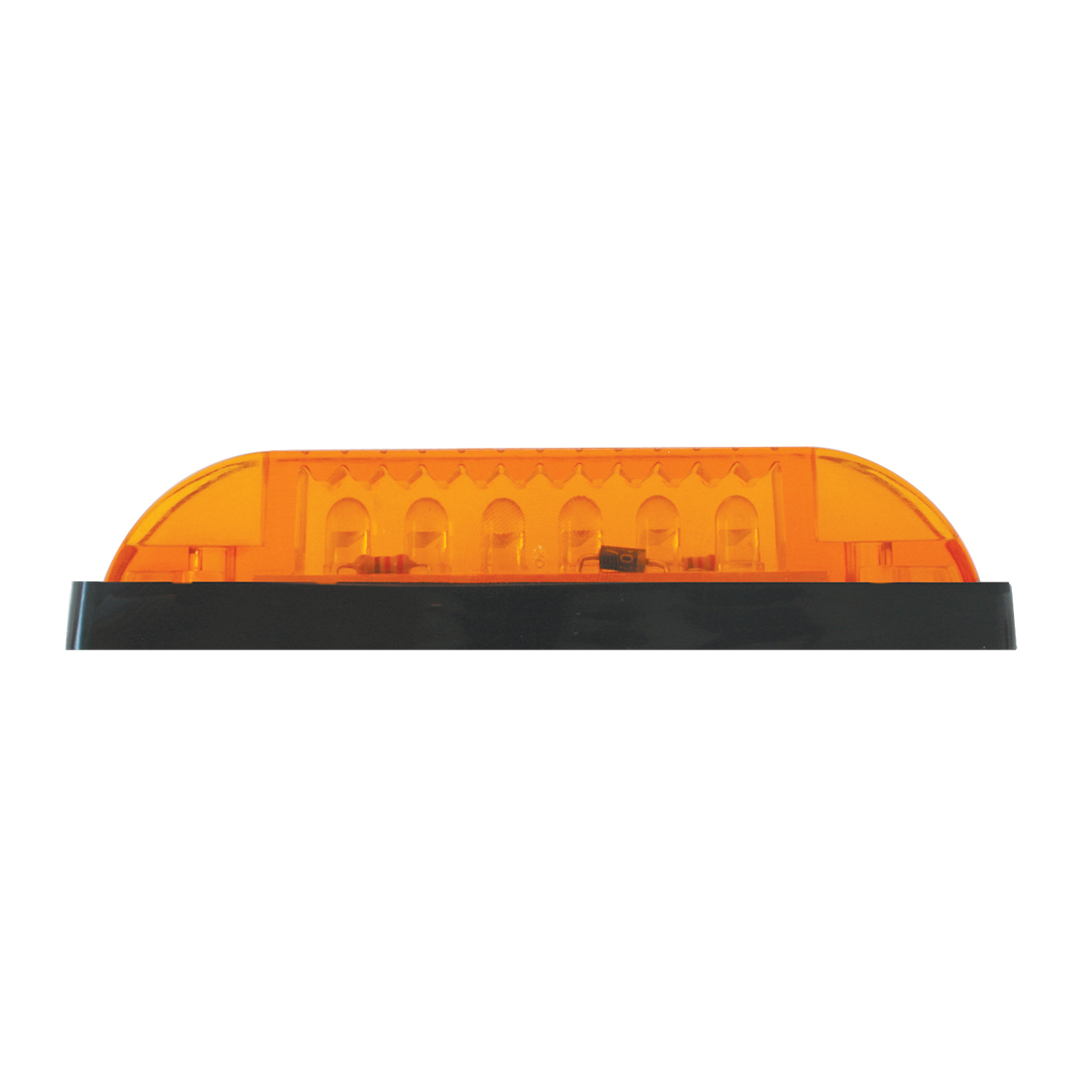 77650 Thin Lin Surface Mount LED in Amber/Amber