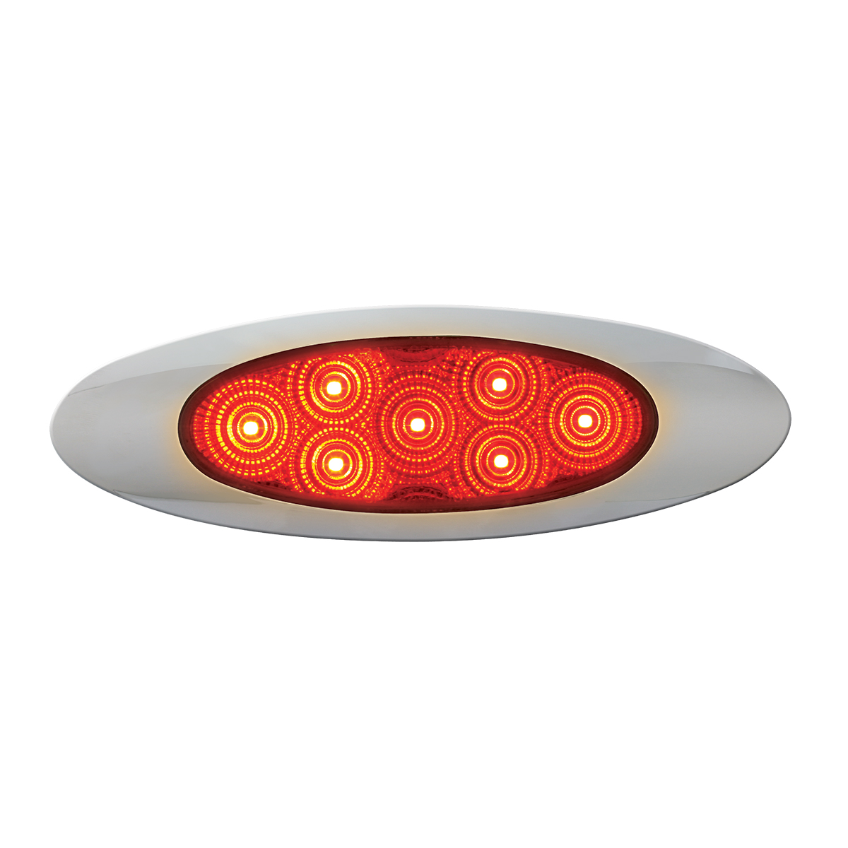 Y2K Plug in with Clear Plastic Bezel GG Grand General 79465 Red Marker Light