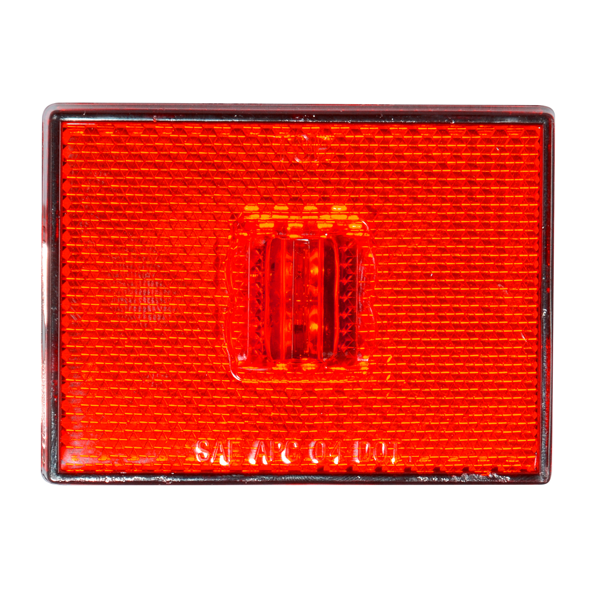 78381 Rectangular Stud Mount LED Marker Light with Reflector Lens