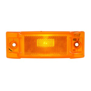 Rectangular Sealed Marker Light with Reflector Lens