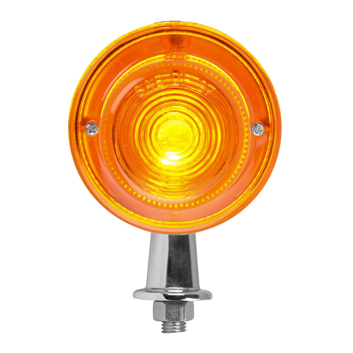 "#80751 1 ⅛"" Tanker Amber Light - 1 Wire"