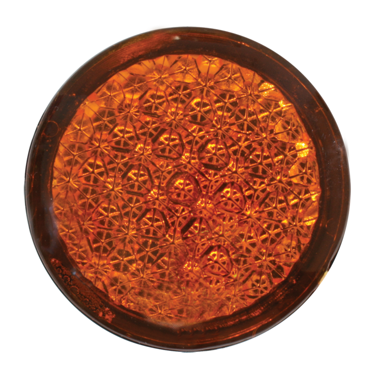 82310 Round Amber Reflective Stick-On Auxiliary Light