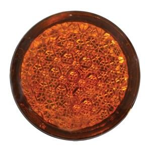 Round Reflective Stick-On Auxiliary Light